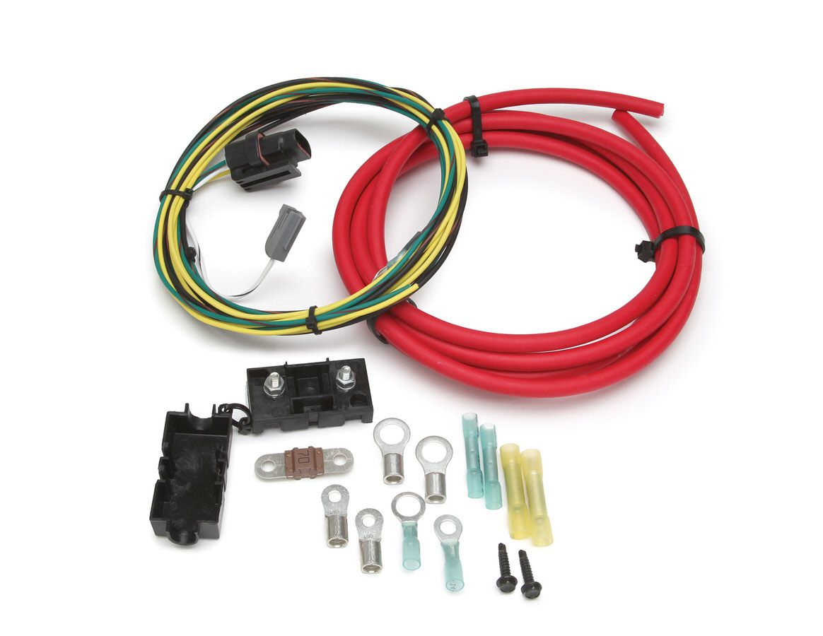 Painless Wiring 30831 Alternator Wire Harness, 8 ft Wire, Fuse / Terminals, Ford 3G Alternator, Kit