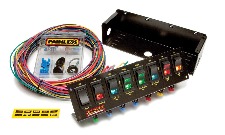 8 Switch Panel W/Harness