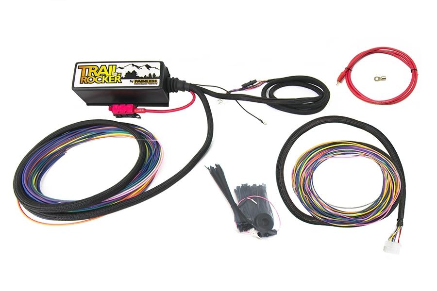 Painless Wiring 57100 Relay Center, Trail Rocker, 12V, 30 Amp, Bracket / Fuses / Relays / Wiring / Zip Ties, Universal, Kit