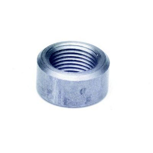 Painless Wiring 60406 Oxygen Sensor Bung, Weld-On, 18 mm x 1.50 Female Threads, Steel, Natural, Each