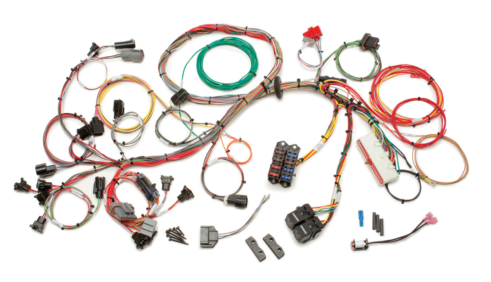 Painless Wiring 60511 EFI Wiring Harness, Extra Length, 5.0 L, Small Block Ford 1986-95, Kit