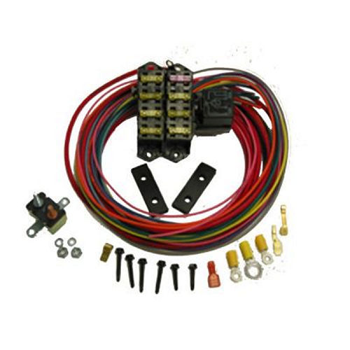 Painless Wiring 70107 Fuse Block, Auxiliary, 7 Circuit, Harness / Relay, Universal, Each