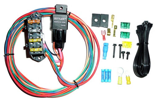 Painless Wiring 70114 Fuse Block, High Amperage Auxiliary, 3 Circuit, Harness / Relay, Universal, Each