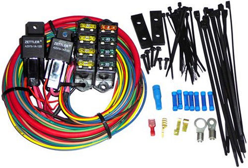 Painless Wiring 70118 Fuse Block, High Amperage Auxiliary, 7 Circuit, Harness / Relay, Universal, Each