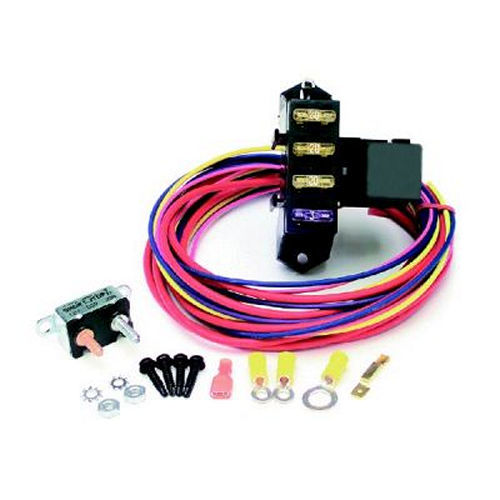 Painless Wiring 70203 Fuse Block, Weather Resistant Auxiliary, 3 Circuit, Harness / Relay, Universal, Each