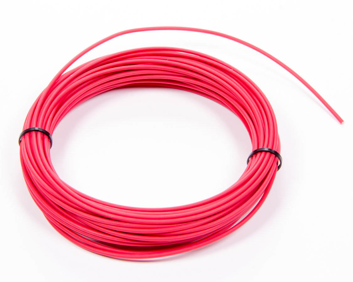 Painless Wiring 70800 Wire, TXL, 14 Gauge, 50 ft Roll, Plastic Insulation, Copper, Red, Each