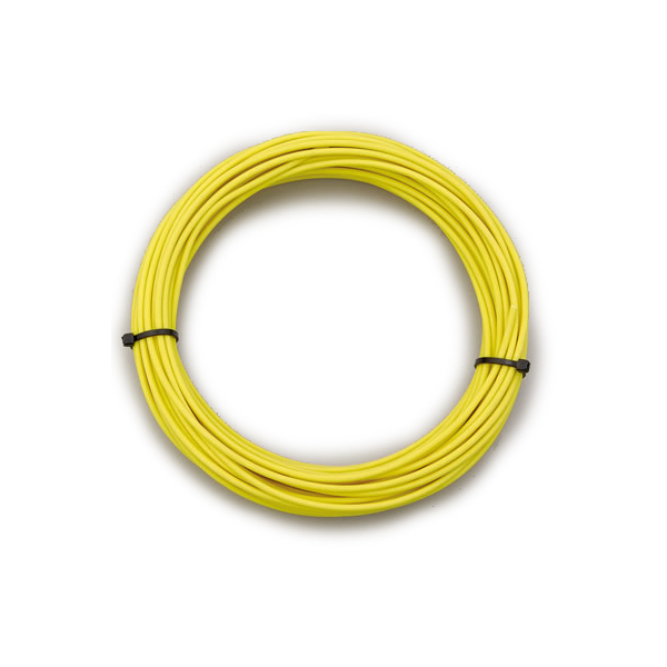 Painless Wiring 71869 Wire, TXL, 18 Gauge, 25 ft Roll, Plastic Insulation, Copper, Yellow, Each