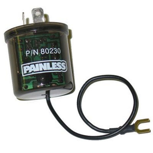 Painless Wiring 80230 LED Flasher, No Load, 25 amp, 12V, Universal, Each