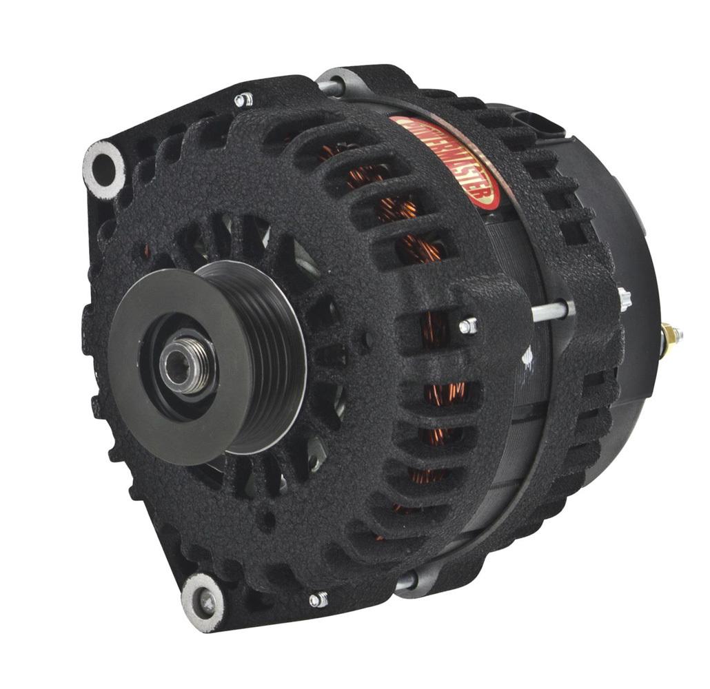 Powermaster 58302W Alternator, 220 Amps GM Duramax Diesel