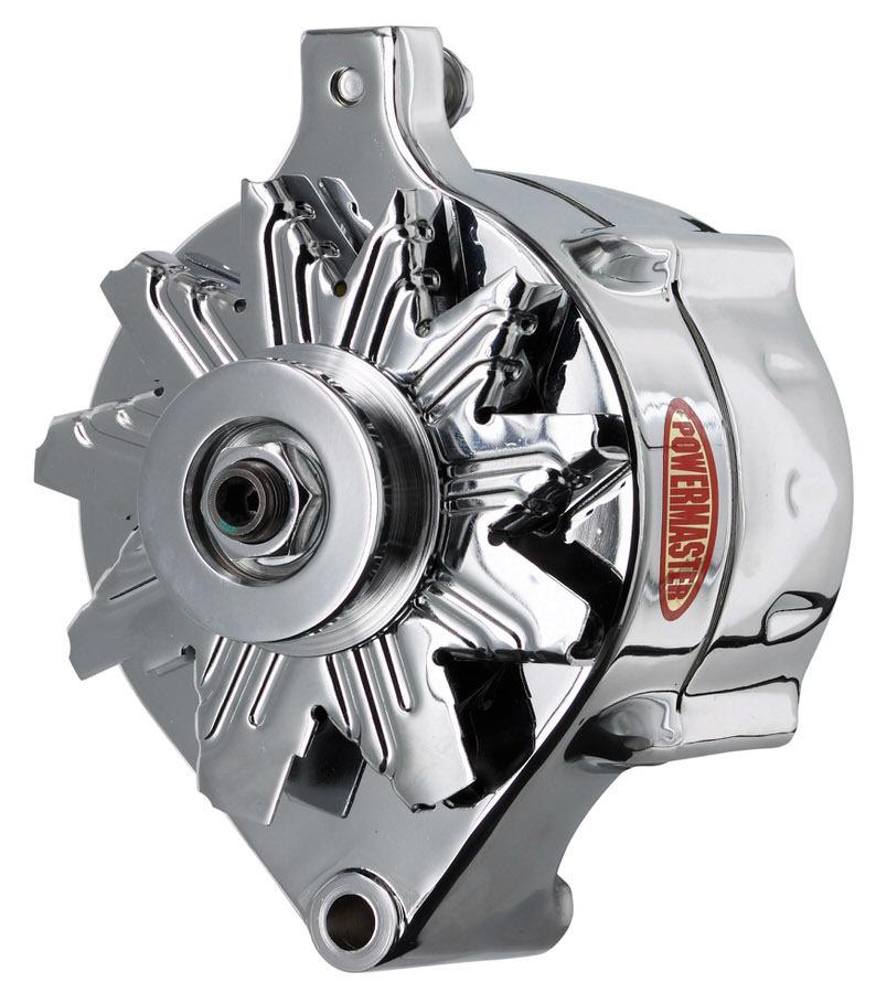 [NRIO_4796]   Powermaster 8-37141 Alternator, Ford Style Race, 150 amp, 12V, 1-Wire,  Single V-Belt Pulley, Chrome, Ford, Each | Ford Powermaster Alternators Wiring |  | Dan Hellmer Racing Solutions