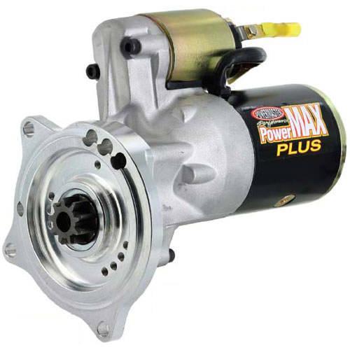 Powermaster 9002 Starter, PowerMAX, 3.7:1 Gear Reduction, Black Paint, Ford Y-Block, Each
