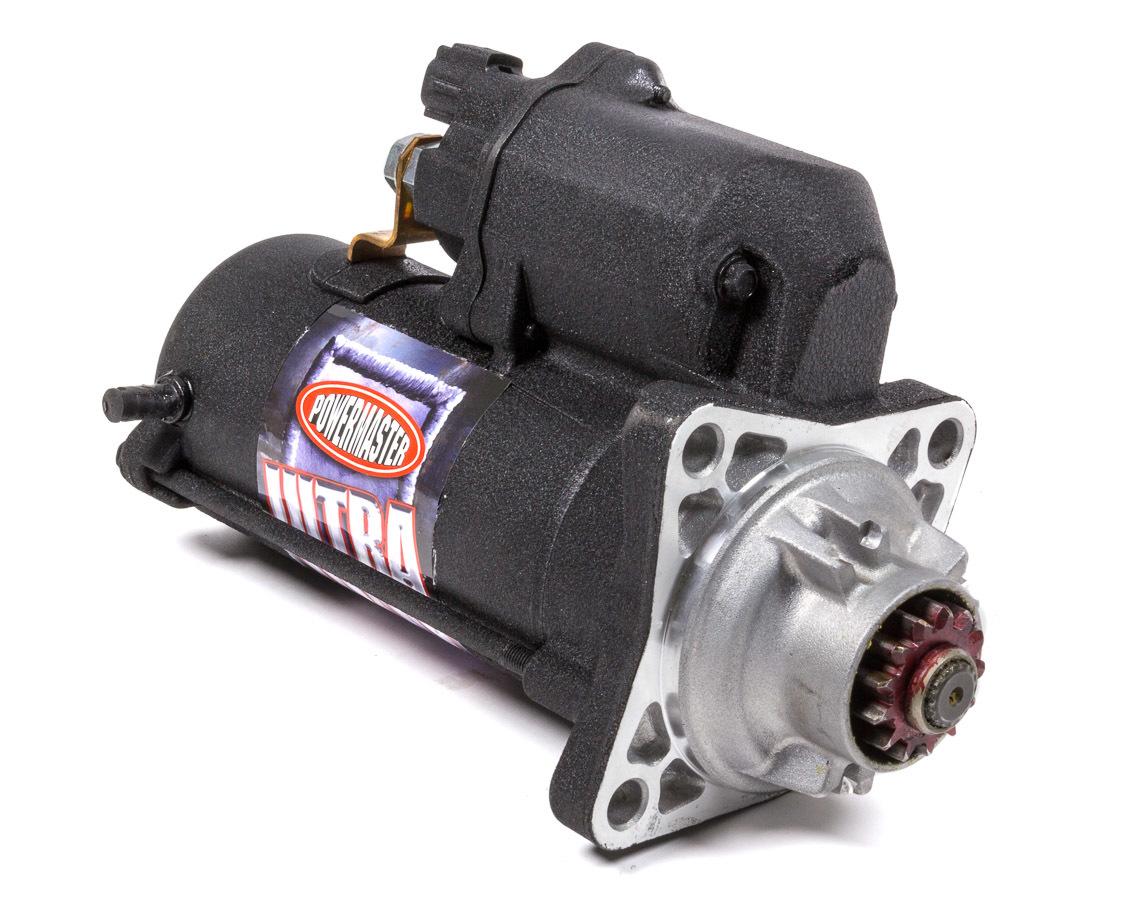 Powermaster 9058 Starter, Diesel Ultra Duty, 5.5:1 Gear Reduction, Black Paint, 5.9 L Cummins 2007-15, Each