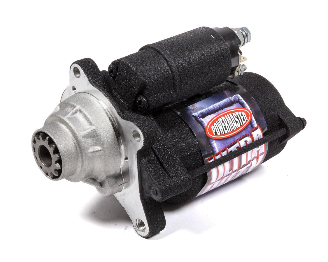 Powermaster 9060 Starter, Diesel Ultra Duty, 4.75:1 Gear Reduction, Black Paint, Ford Powerstroke 2008-10, Each