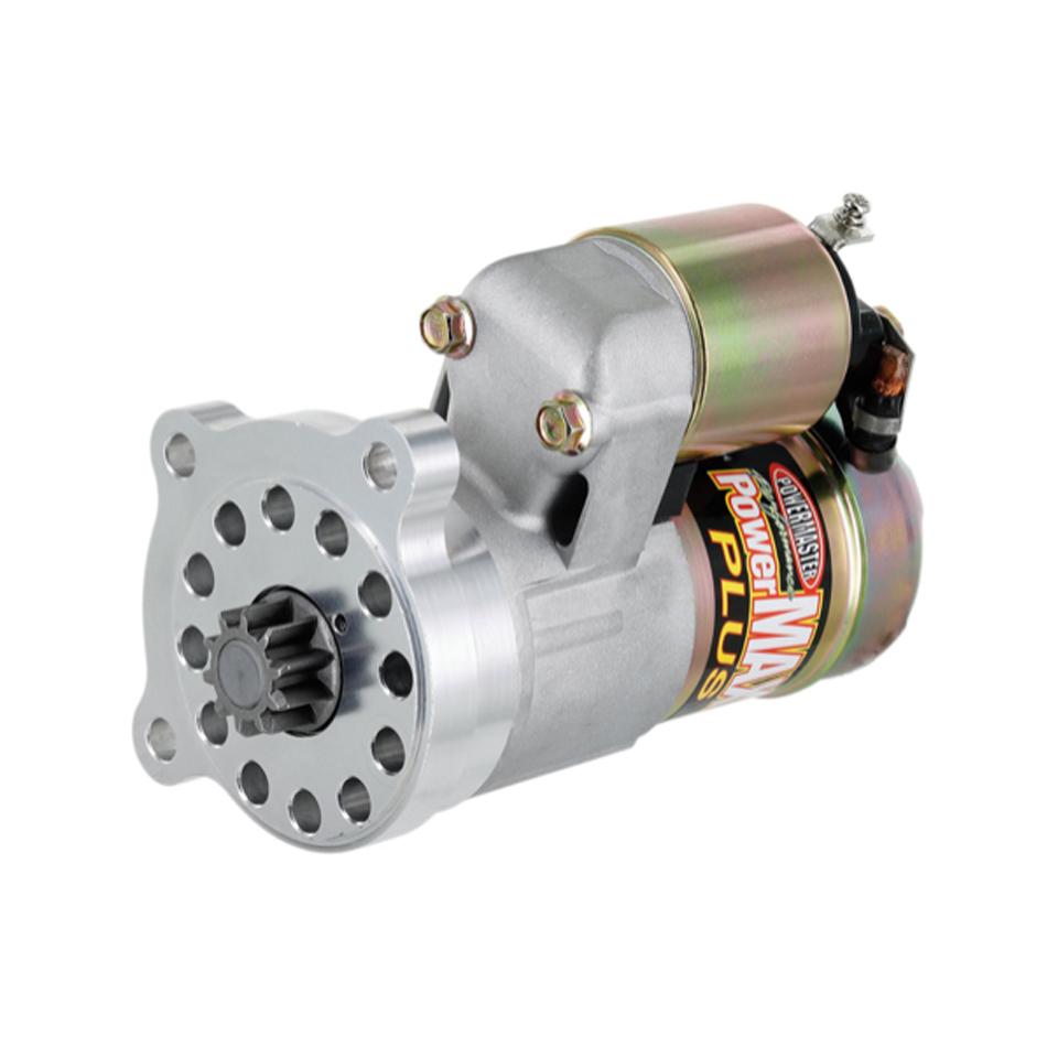 Powermaster 9132 Starter, PowerMAX Plus, 6.1:1 Gear Reduction, Natural, Mini, Ford Modular, Each