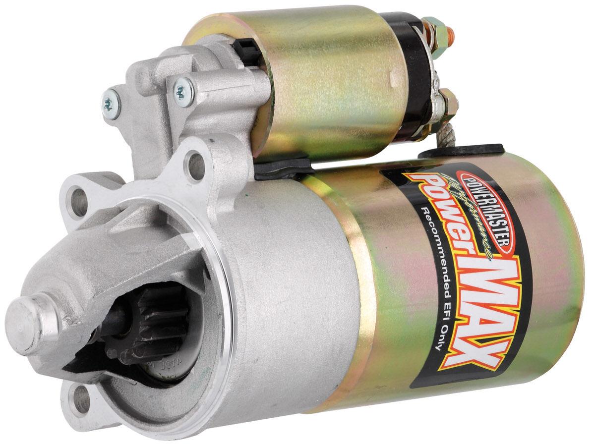 Powermaster 9183 Starter, PowerMAX, 4.25:1 Gear Reduction, Natural, Ford Modular / Coyote, Each