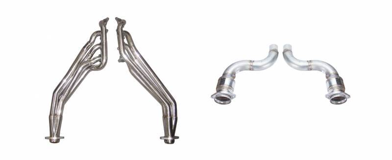 15-17 Mustang Long Tube Header Kit w/Cats