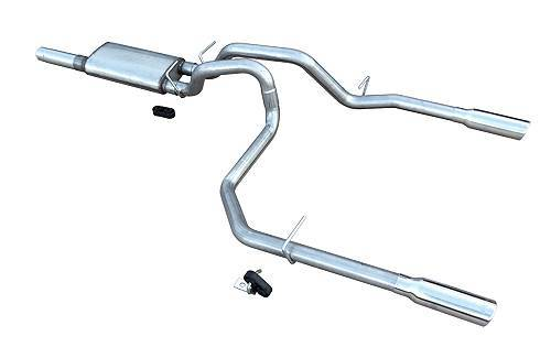 10-17 GM P/U 1500 5.3L Cat Back Exhaust Kit