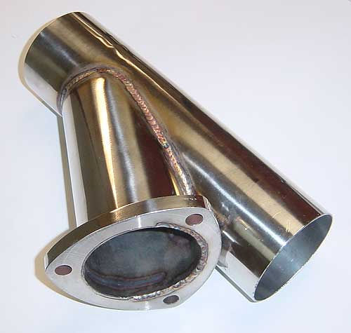 Pypes Performance Exhaust YVX13S Exhaust Cut-Out, Manual, Clamp-On, Single, 3 in Pipe Diameter, Stainless, Polished, Each