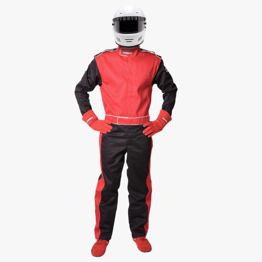 Suit Red Medium 1Lyr One Piece SFI-1