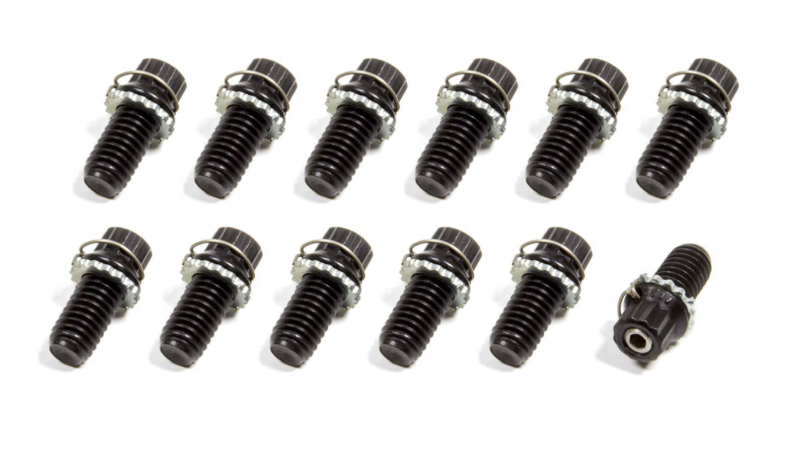 Vibe-Lock Blk Oxide Bolt Kit 3/8-16 x 3/4 12pk