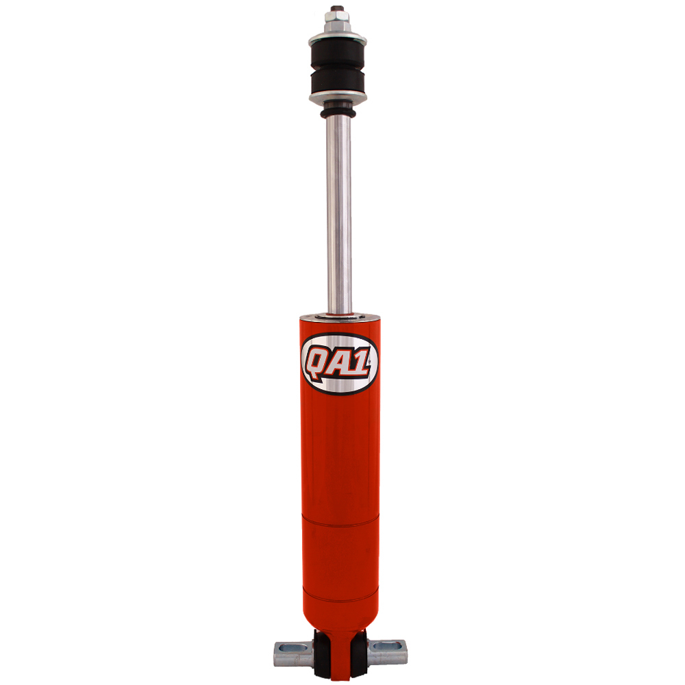 QA1 27945-10C Shock, 27 Series, Monotube, 9.4 in Compressed / 14 in Extended, 2 in OD, 3 Valve, Steel, Red Powder Coat, Each