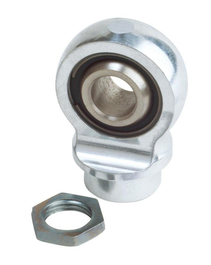 QA1 9036-103 Shock End, Spherical, Steel, Zinc Oxide, QA1 26 / 26a / 26V / 28 / 28a / 28V / 50 / 60 / 62 Series Shocks, 9/16-18 in Right Hand Thread, Each