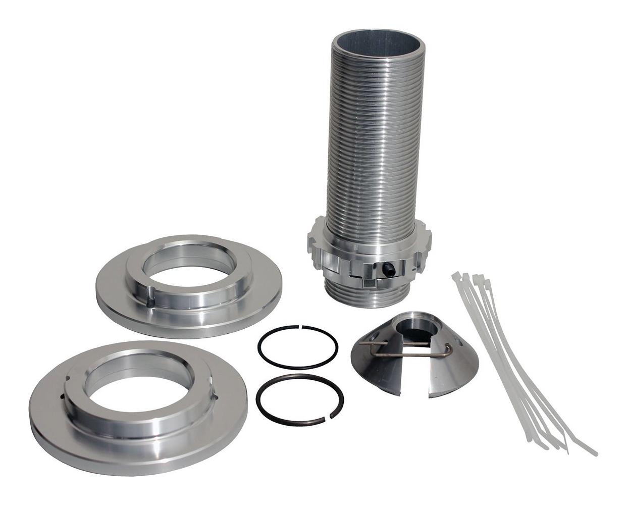 QA1 CK5009 Coil-Over Kit, 5.000 in OD Spring, Aluminum, Natural, 7 in Stroke, QA1 20 / 26 / 26a / 26V / 28 / 28a / 28V / 50 Series Shocks, Kit