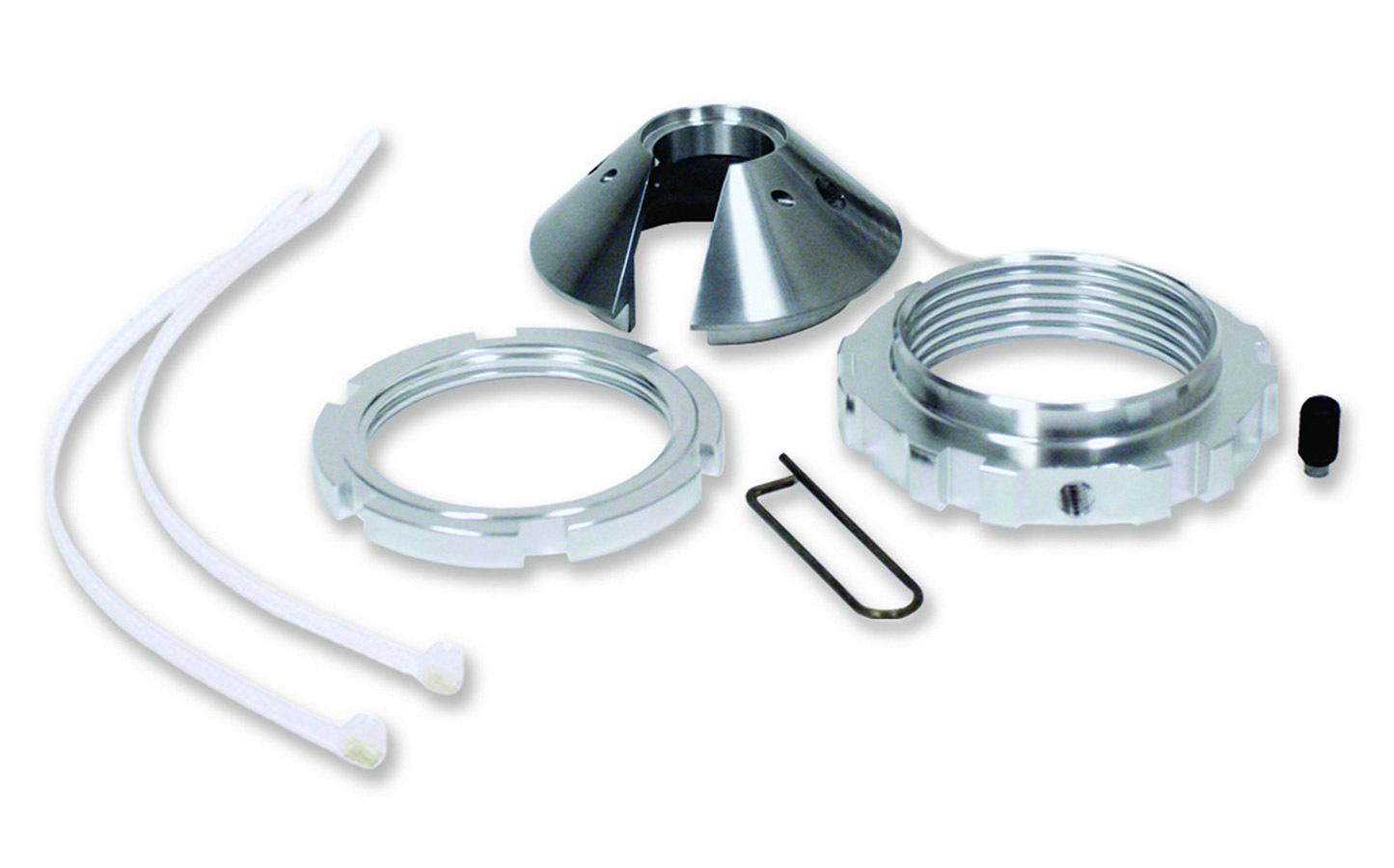 QA1 CK6201 Coil-Over Kit, 2.500 in ID Spring, Aluminum, Natural, 7/9 in Stroke, QA1 62 Series Shocks, Kit