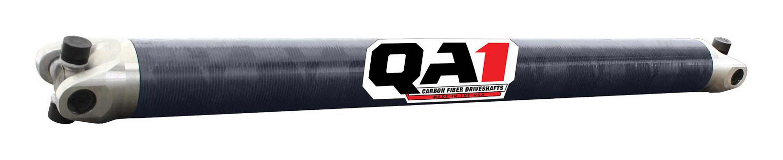 QA1 JJ-11233 Drive Shaft, 38 in Long, 3.20 in OD, 1310 U-Joints, Carbon Fiber, Universal, Each
