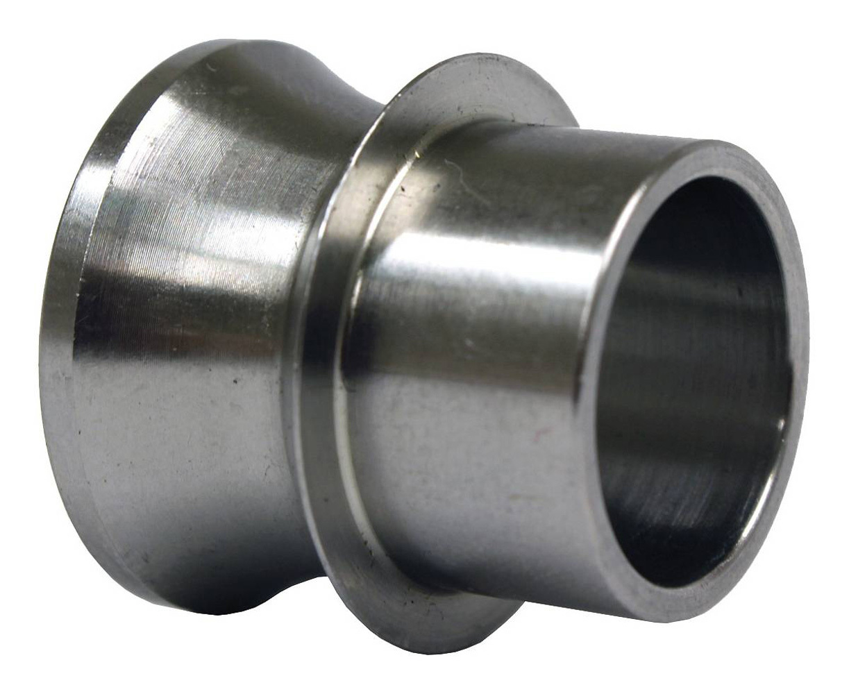 QA1 SG12-88 Rod End Bushing, 3/4 to 1/2 in Bore, High Misalignment, Stainless, Natural, Each