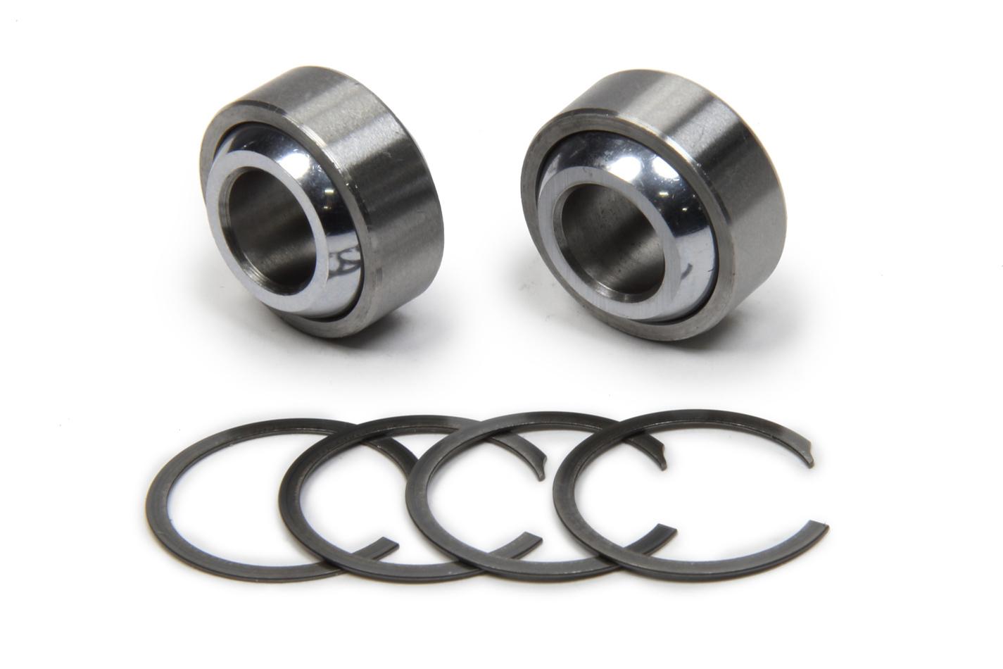 QA1 SIB10T-102PK SIB Series spherical bearing kit. Includes 2 spherical bearings, four snap rings and is made for one shock.