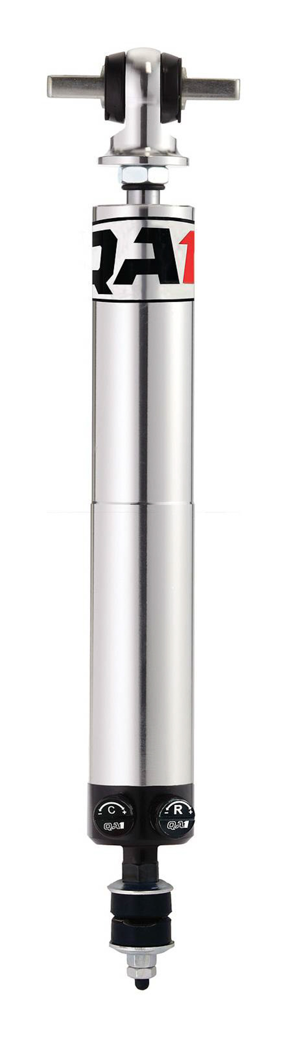 QA1 TD702 Shock, Stocker Star, Twintube, Double Adjustable, 13.13 in Compressed / 19.63 in Extended, Aluminum, Natural, Each