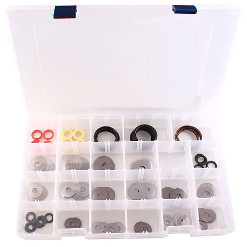 QA1 TK08 Shock Valving Kit, Bits / Check Balls / Disc Valves / O-Rings / Pistons / Valves, QA1 26/27 Series Shocks, Kit