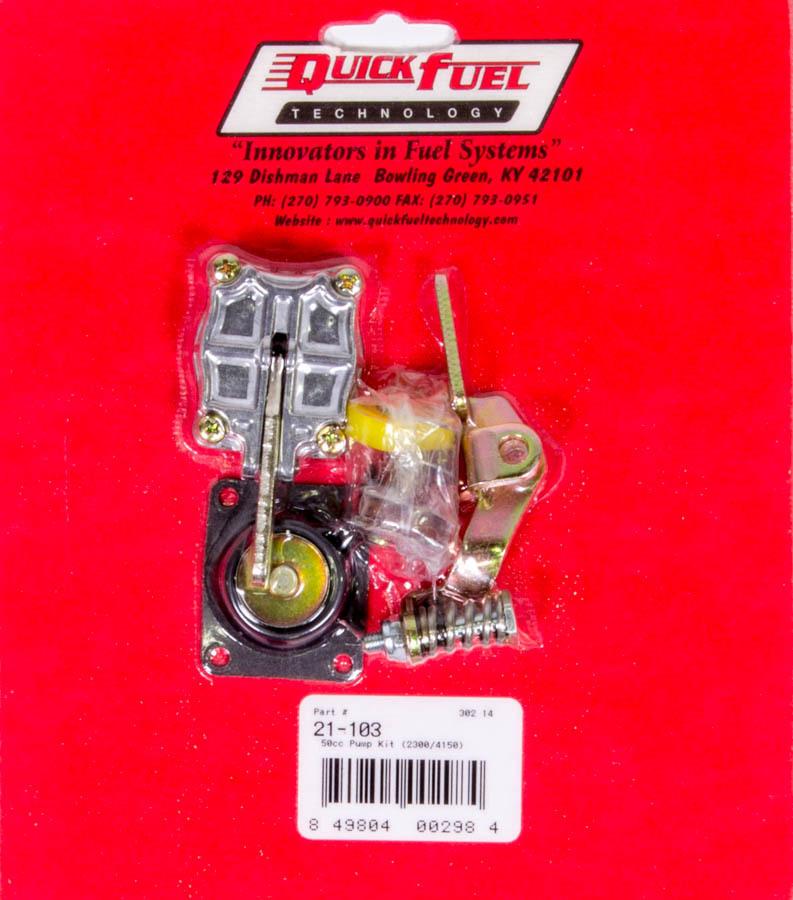 Accelerator Pump Kit - 50cc (2300-4150 styles)