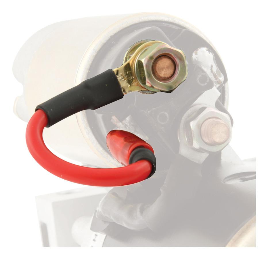 QuickCar 50-2001 Solenoid Jumper Wire, Remote, Spade Connector, Allstar / Quarter Master / Tilton Starters, Each