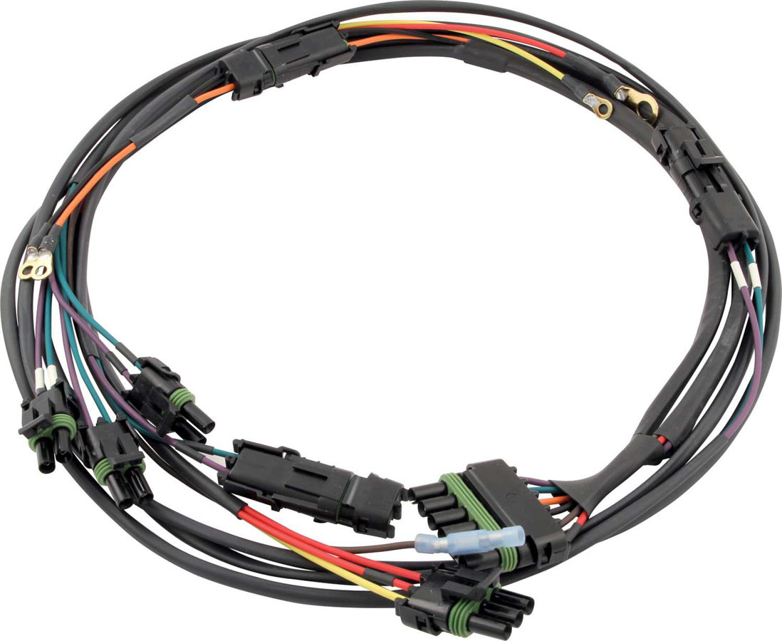 QuickCar 50-2034 Ignition Wiring Harness, Weatherpack, Dual Pickup Distributors / Quickcar Dual Pickup Switch Panel, Kit