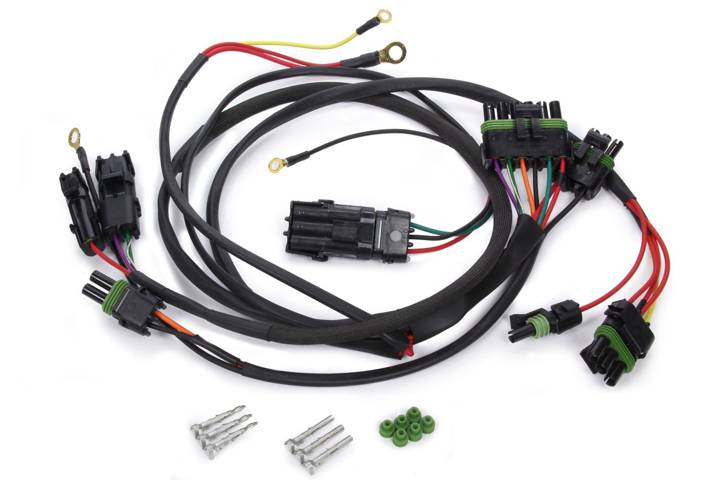 QuickCar 50-2051 Ignition Wiring Harness, Weatherpack, Crane / Fast Ignition Box, Kit