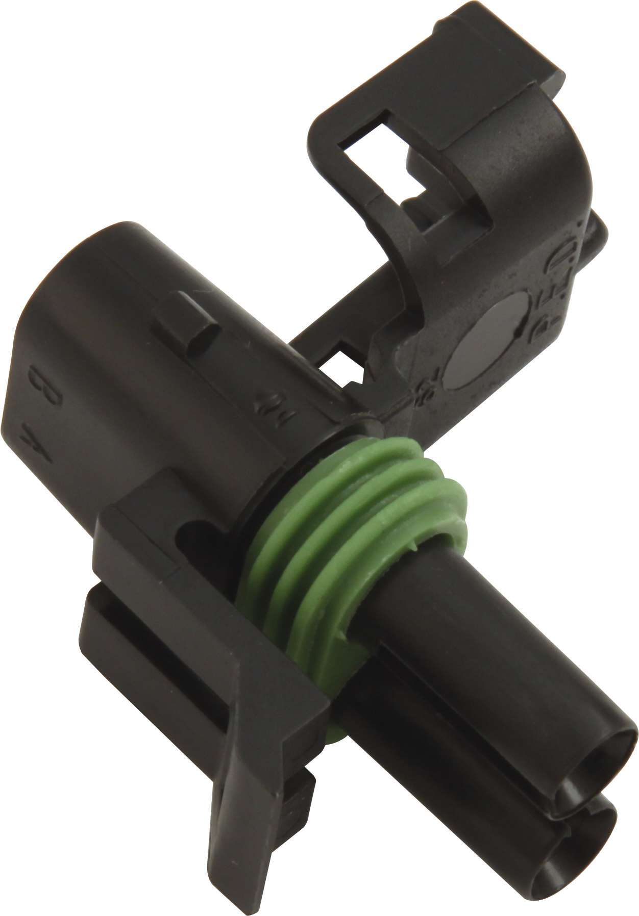 QuickCar 50-320 Electrical Connector, Weather Pack Sealed Connector, 2 Pin, Female, Plastic, Black, Each
