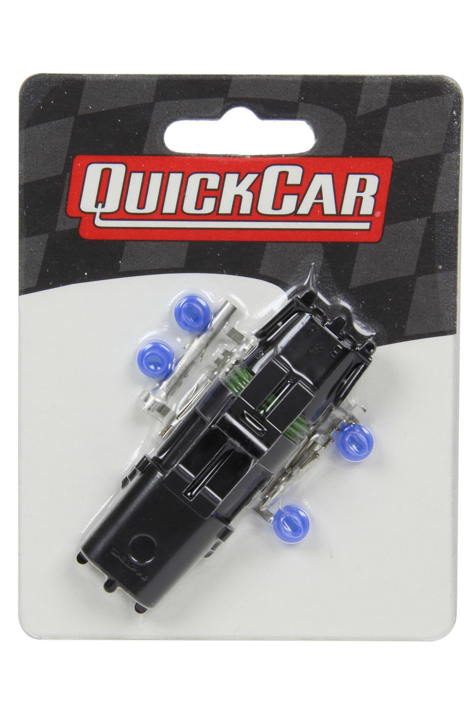 QuickCar 50-322 Electrical Connector, Weather Pack Sealed Connector, 2 Pin, Plastic, Black, Kit
