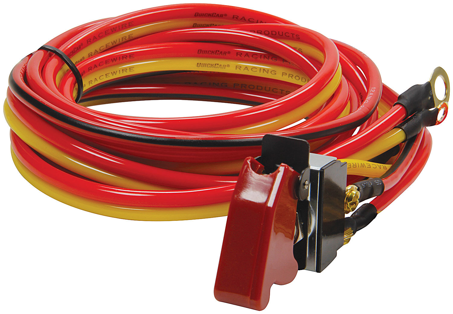 QuickCar 50-507 Switch Wiring Harness, Toggle, Off / On / Momentary, Safety Cover, Kit