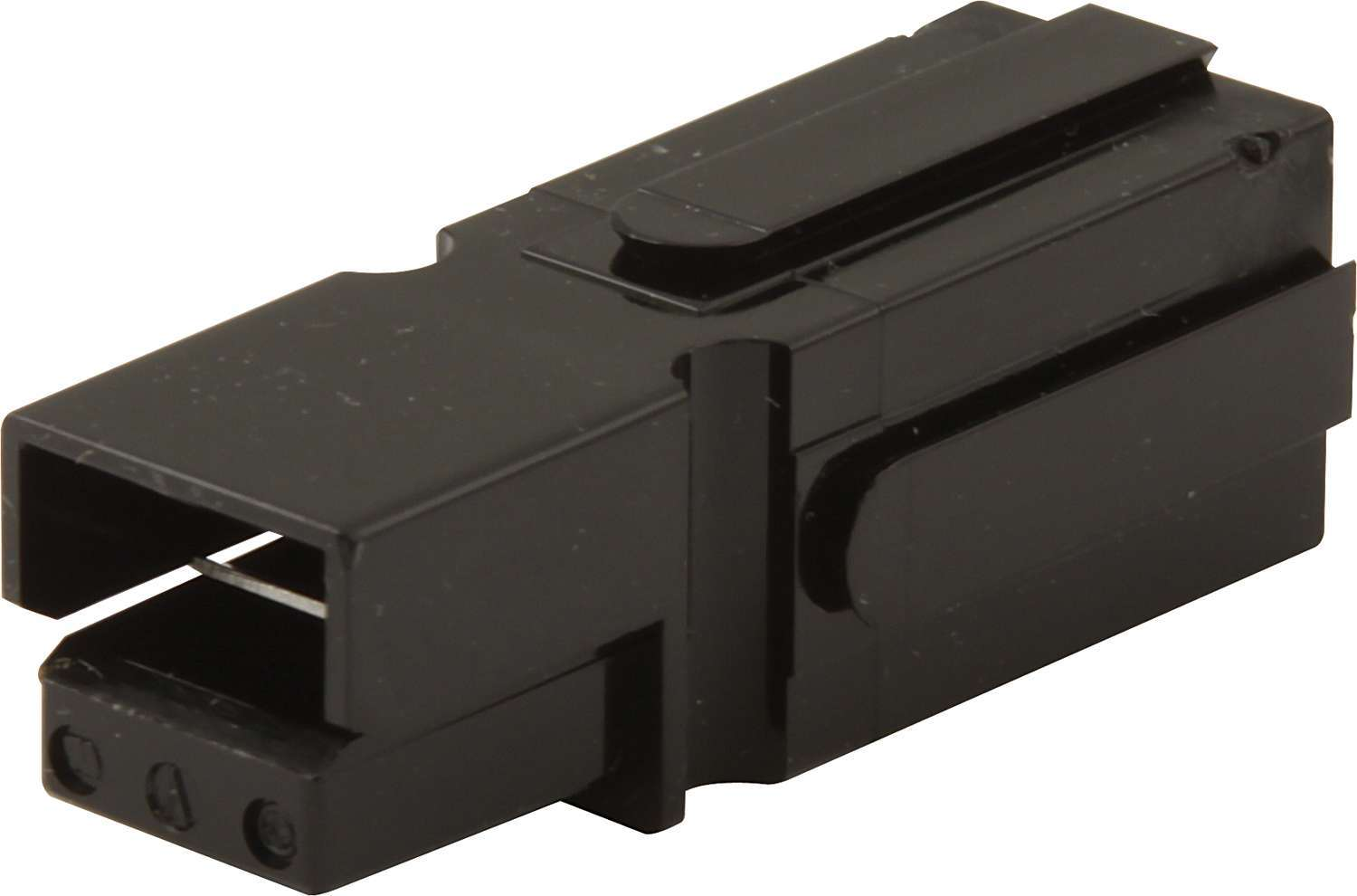 QuickCar 50-513 Battery Cable Connector, Holster, 6 Gauge Cable, Black, Quickcar Battery Quick Disconnect, Each