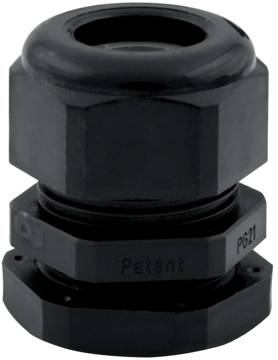 QuickCar 57-820 Firewall Grommet, 4-2 Gauge Wire, 5/8 in ID, Plastic, Black, Each