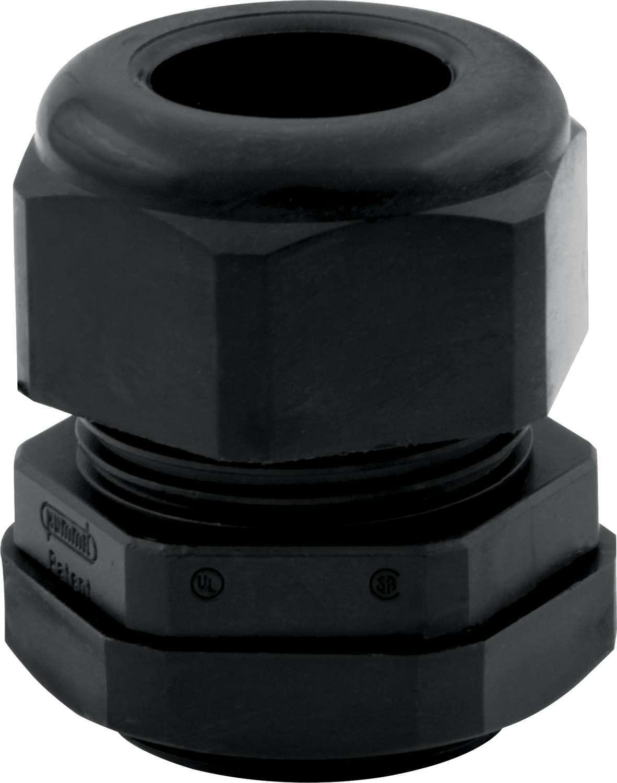 QuickCar 57-830 Firewall Grommet, 2-1 Gauge Wire, 0.725 in ID, Plastic, Black, Each
