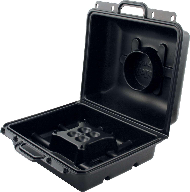 QuickCar 64-140 Carburetor Case, Tote, Polypropylene Plastic, Black, Holley 2 / 4-Barrel Carburetors, Each
