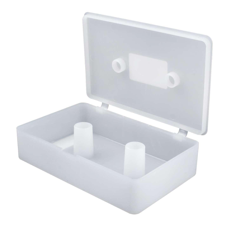 QuickCar 64-230 Quick Change Gear Set Storage Case, Plastic, Clear, Each