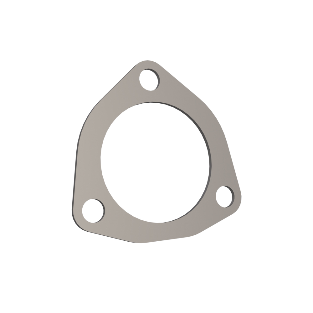 Quick Time Performance 10250G Collector Gasket, 2-1/2 in Diameter, 3-Bolt, Graphite, Each