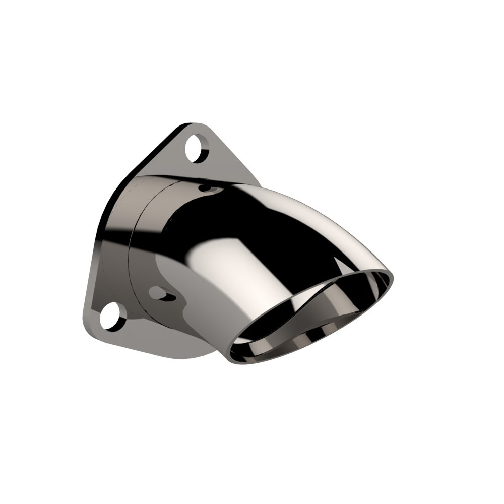 2.50 Inch Adjustable Sta inless Steel Turn Down