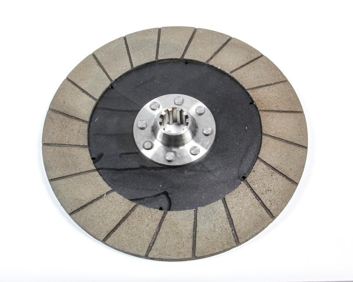 Quarter Master 101290 Clutch Disc, 10.4 in Diameter, 1-1/8 in x 10 Spline, Rigid Hub, Organic, Universal, Each