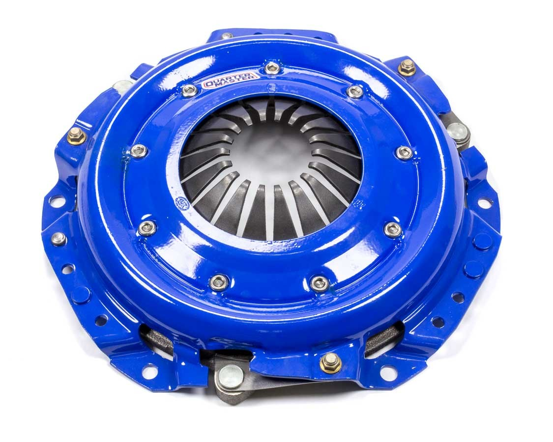 Quarter Master 101500 Clutch Cover Assembly, Street Stock, 10.4 in Diameter, Steel, Quarter Master Street Stock Clutches, Each