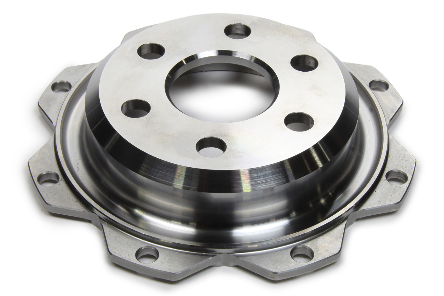 Quarter Master 505308SC Flywheel, Button Style, Neutral Balance, Steel, 5-1/2 in Quarter Master V-Drive / Optimum Clutches, Small Block Ford, Each